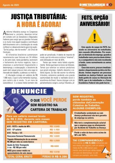 Sindicato produz novo jornal para a categoria