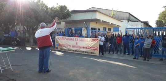Assembleia na Chiaperini de mobilização da Campanha Salarial 2020