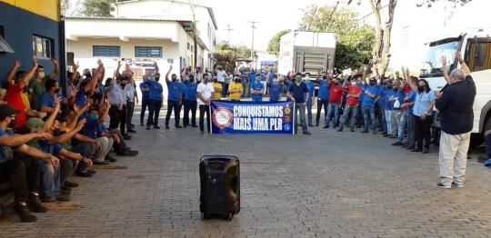 Conquista da PLR e campanha salarial 2020 na Chiaperini